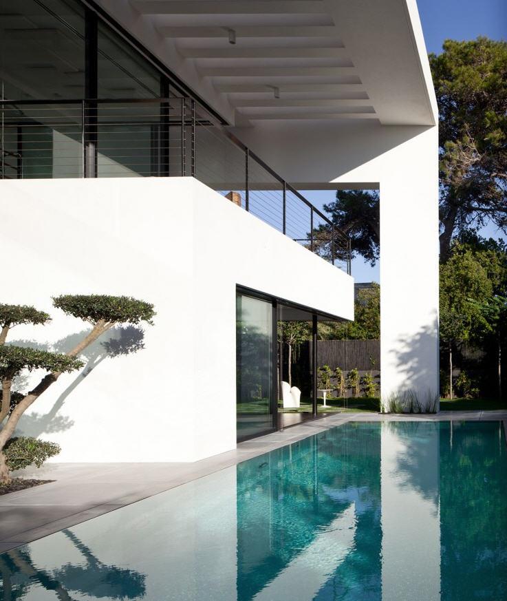 Casa contempor nea bauhaus en israel dise o interior 3d - Piscinas desmontables bauhaus ...